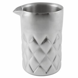 Одноразовая посуда - Стакан The Bars для смешивания 600 мл, нержавеющая сталь, 0