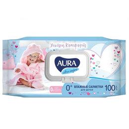 Влажные салфетки - Гипоаллергенные влажные салфетки для детей AURA Ultra COMFORT, 0