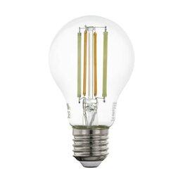 Лампочки - Лампа светодиодная филаментная диммируемая Eglo E27 6W 2200-6500K прозрачная ..., 0
