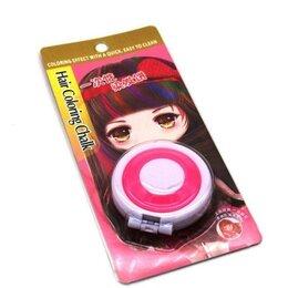 Маски и сыворотки - Мелок для временного окрашивания волос, розовый, 0