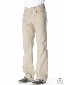 Джинсы - Бежевые джинсы  W5053 DK_BEIGE, 0