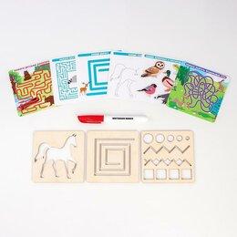 Дидактические карточки - Многоразовые карточки «Пиши-стирай», мир животных, 0