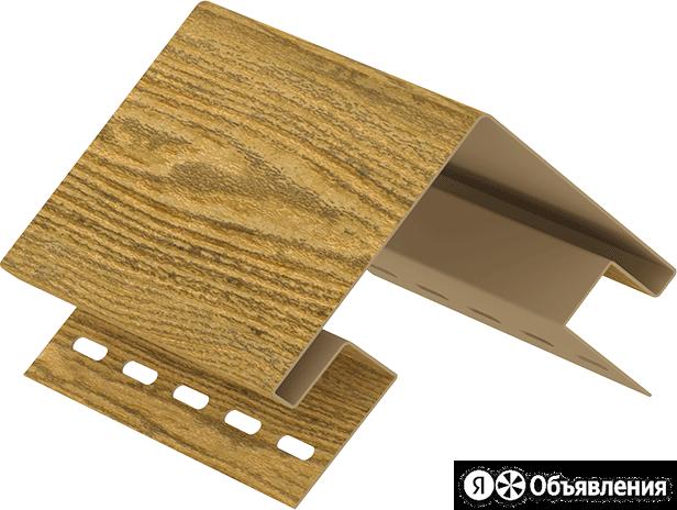 Наружный угол Ю-Пласт HOKLA Винтаж Охра 3,0 м по цене 755₽ - Уголки, кронштейны, держатели, фото 0