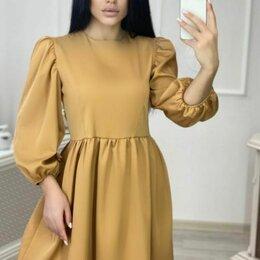 Платья - Платье Горчица , 0