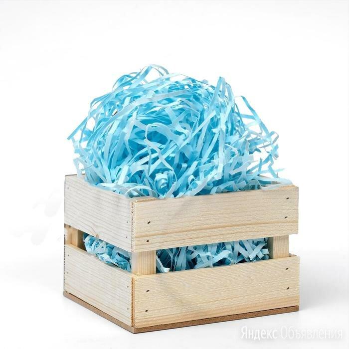 Наполнитель бумажный голубой, 500 г по цене 503₽ - Строительные смеси и сыпучие материалы, фото 0