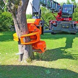 Спецтехника и навесное оборудование - Захват с пилой для валки деревьев, 0