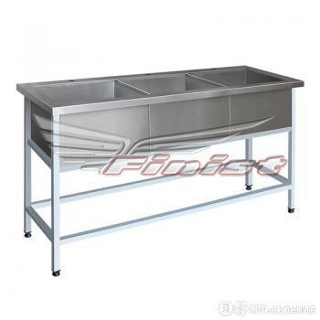 Ванна моечная ВМЭ-3 (2000х700х860) по цене 22890₽ - Мебель для учреждений, фото 0