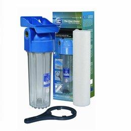 Фильтры для воды и комплектующие - Фильтр воды магистральный Aquafilter FHPR12-HP-WB, давление до 10 бар 1/2&qu, 0