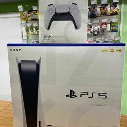 Игровые приставки - Sony Playstation 5 + игра + второй геймпад, 0