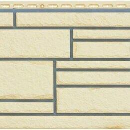 Фасадные панели - Фасадная панель Grand Line Камелот Премиум Шампань, 0