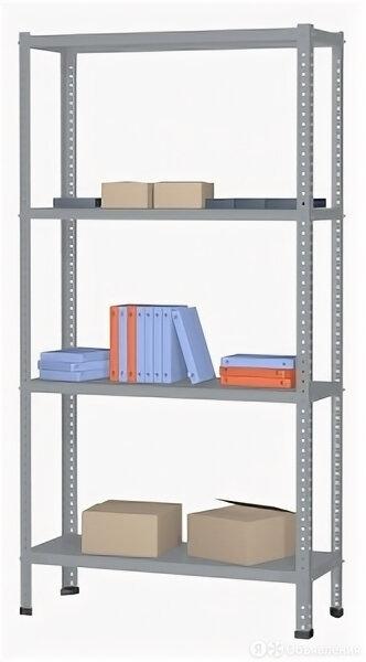 Верстакофф Металлические стеллажи для архива Верстакофф (2000х700х600 мм) по цене 6352₽ - Мебель для учреждений, фото 0
