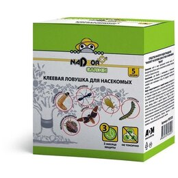 Средства от насекомых - Клеевая ловушка для насекомых «Ловчий пояс» 5м, Nadzor, 0