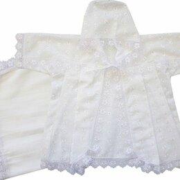 """Крестильная одежда - Крестильный набор """"Папитто"""" универсальный (размер 20-22, рост 62-68 см), 0"""