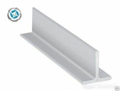 Тавр алюминиевый (Т образный профиль) 20х20х2 мм, сплав АД31Т1 по цене 148₽ - Металлопрокат, фото 0