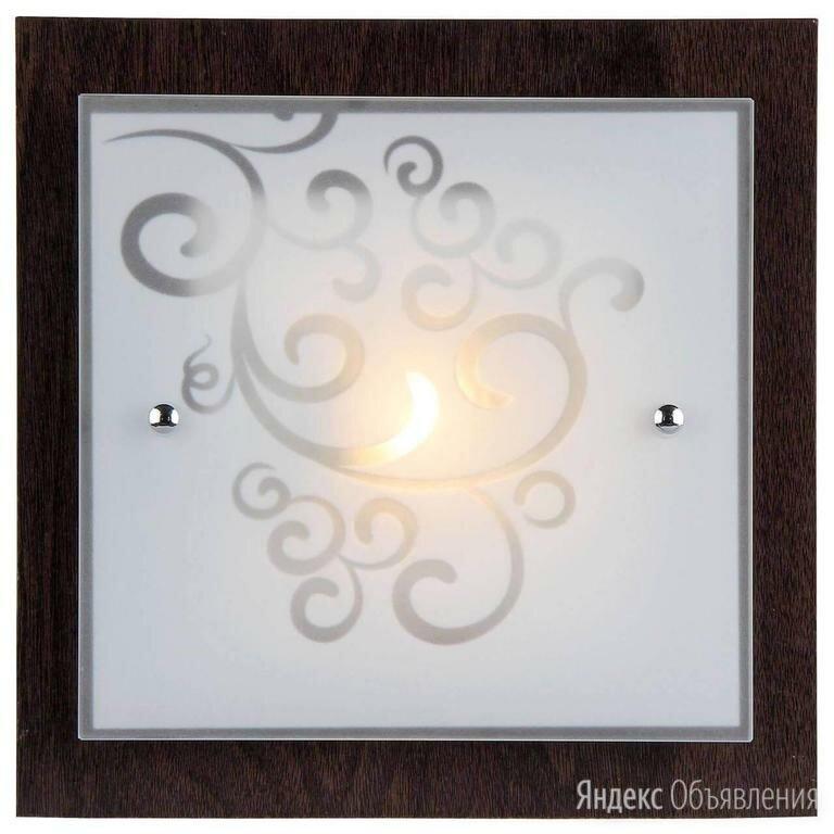 Настенный светильник Freya Constanta FR4811-CL-01-BR по цене 1900₽ - Настенно-потолочные светильники, фото 0