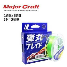 Леска и шнуры - Шнур Major Craft Dangan Braid X4 150м #1,5, 0