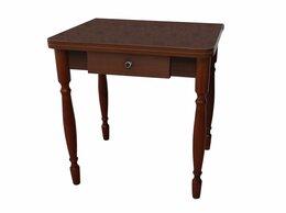 Столы и столики - Стол Ломберный раскладной с ящиком Корень вяза …, 0