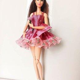 Аксессуары для кукол - Нарядное платье для куклы Барби., 0