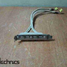 Прочие комплектующие - Планка расширения 4 Ports USB2.0, 0