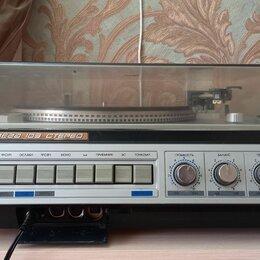 Проигрыватели виниловых дисков - Проигрыватель пластинок вега 109 стерео, 0