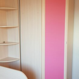 Шкафы, стенки, гарнитуры - Детская герда лазурит молочный дуб, 0