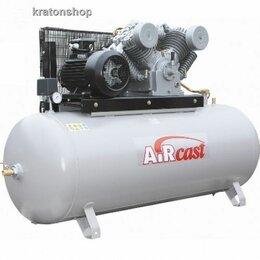 Воздушные компрессоры - Компрессор с ременной передачей СБ4/Ф-500.LT100 Remeza AirCast, 0