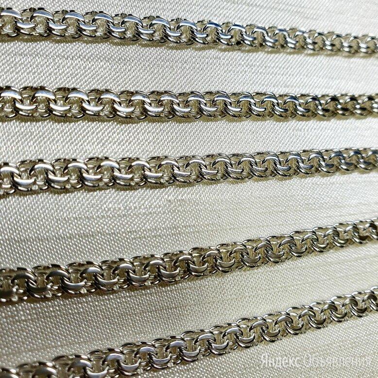 Новая серебряная цепь Бисмарк  по цене 3180₽ - Цепи, фото 0