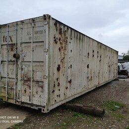 Готовые строения - Морской контейнер 40 футов нс, 0