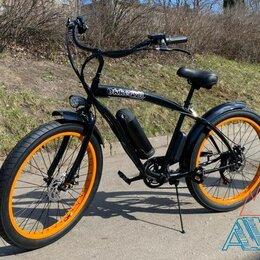 Велосипеды - Электровелосипед Cruiser Okk GH-702 350W 7 скор. 26''со склада, 0