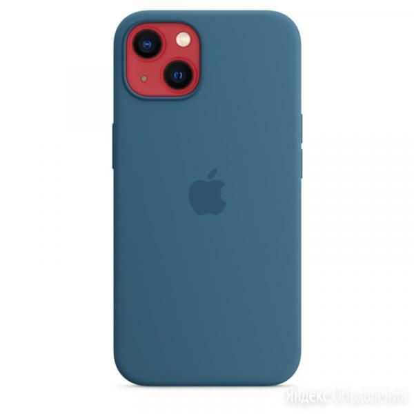 Силиконовый чехол MagSafe для iPhone 13 mini, цвет «полярная лазурь» по цене 4990₽ - Чехлы, фото 0