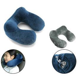 Походная мебель - Подушка туристическая, синяя, 0