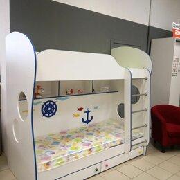 Кроватки - Двухъярусная кровать с двумя матрасами, 0