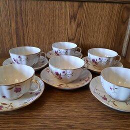 Кружки, блюдца и пары - Чайный сервиз лфз гвоздика, 0