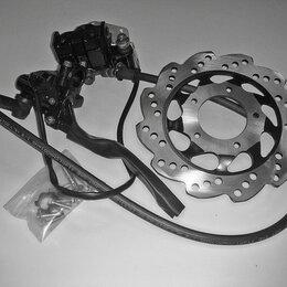Запчасти  -  Тормоз передний дисковый в сборе для мопеда Минск Д4 50, 0