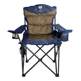 Походная мебель - Кресло складное с изотермическим карманом р.60*60*53 см, цвет синий, 0