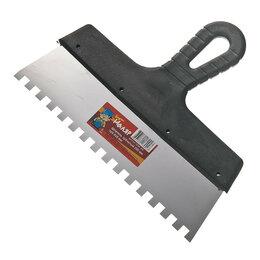 Шпатели - Шпатель 8х8 мм, 250 мм, зубчатый , 0