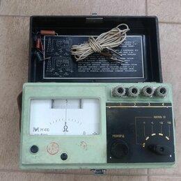 Измерительные инструменты и приборы - Измеритель сопротивления заземления м416 , 0