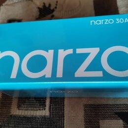 Мобильные телефоны - Realme Narzo 30a 4/64 черный новый гарантия, 0