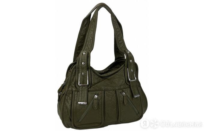 Сумка зеленая SARSA 9048 Артикул: 14177-31 по цене 2190₽ - Сумки, фото 0