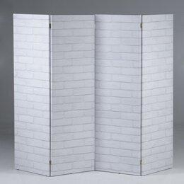 """Ширмы - Ширма """"Кирпичная стена"""", 200 × 160 см 4558422, 0"""