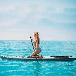 Водные лыжи, вейкбординг и книбординг - SUP сёрфинг доска полный комплект, 0