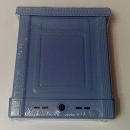 Почтовые ящики - Ящик наружний почтовый с замком, пластик синий, 0