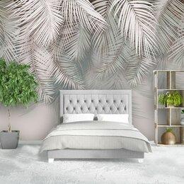 Обои - Фреска пальмовые листья , 0