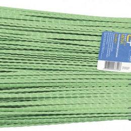 Садовые щетки и метлы - Метла полипропиленовая СИБРТЕХ распушеная 270 х 260 мм, с черенком 63218 [63218], 0