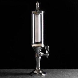 Бутылки - Башня пивная «Петронас», 3 л, колба с подсветкой, 0