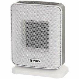 Водяные тепловентиляторы - Тепловентилятор Vitek на 20 квадратных метров VT-2052(GY), 0