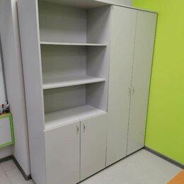 Шкафы для документов - Шкаф книжный офисный для бумаг 1/2 закрытый, 0