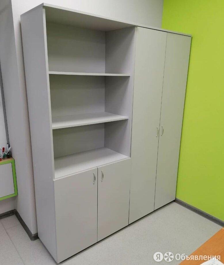 Шкаф книжный офисный для бумаг 1/2 закрытый по цене 4900₽ - Шкафы для документов, фото 0