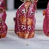 """Сувенирный набор дерево """"Красные кошечки"""" (20,15,12) 4х13х20 см по цене 1208₽ - Новогодние фигурки и сувениры, фото 3"""
