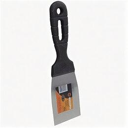 Шпатели - Шпатель 60 мм, нержавеющая сталь, пластмассовая ручка, ВИХРЬ 73/3/2/16 , 0